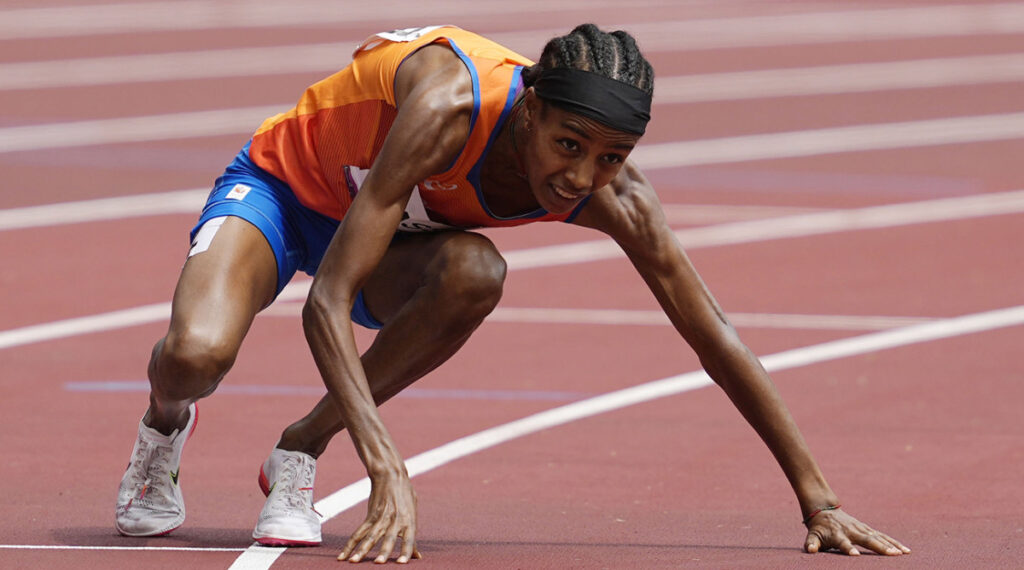 Sifan Hassan wins 1500m warmth after a tumble to keep Olympic high pitch on target